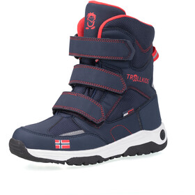 TROLLKIDS Lofoten Winter Boots Kids, navy/red